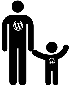 WordPress parent child themes